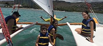 holokino hawaii canoe ride
