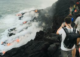 Essential Hawaii Tours lava overlook