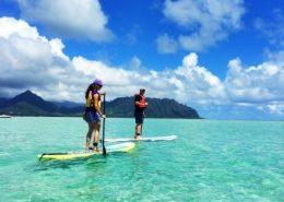 Holokai Kayak Snorkel Adventures addleboard