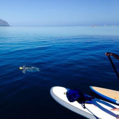 Holokai Kayak Snorkel Adventures blue water