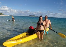 Kailua Beach Adventures couple