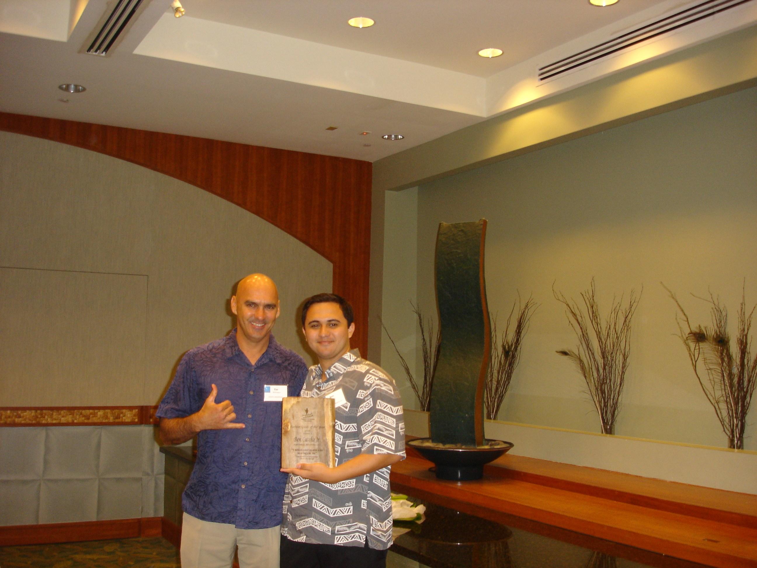 tim-with-tour-guide-winner-ben-catcho-jr-kapohokine-adventures