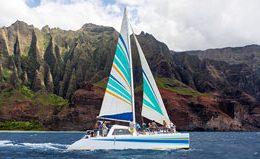 holo holo charters napali coast catamaran