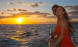 holo holo charters napali sunset boat tour