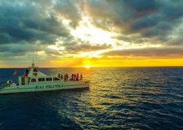 ocean joy cruises Arial Sunset of the Kai OliOli