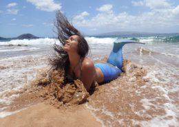 hawaii mermaid adventures blue mermaid beach waves
