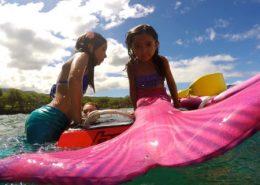 hawaii mermaid adventures pink mermaid board