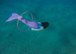 hawaii mermaid adventures pink mermaid underwater hoop