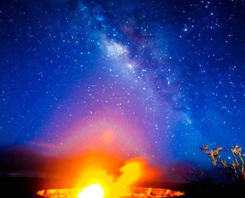 kapohokine adventures volcano at night