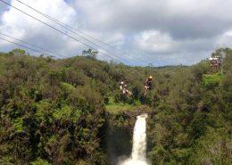 kapohokine adventures waterfall