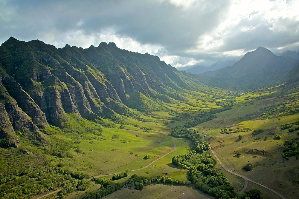 kualoa ranch landscape