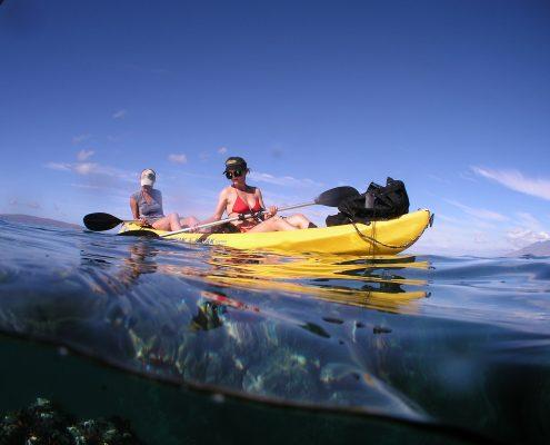maui kayak adventure kayakersoverunderreef e