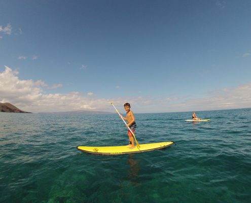 maui stand up paddle MakenaSUPyrOld