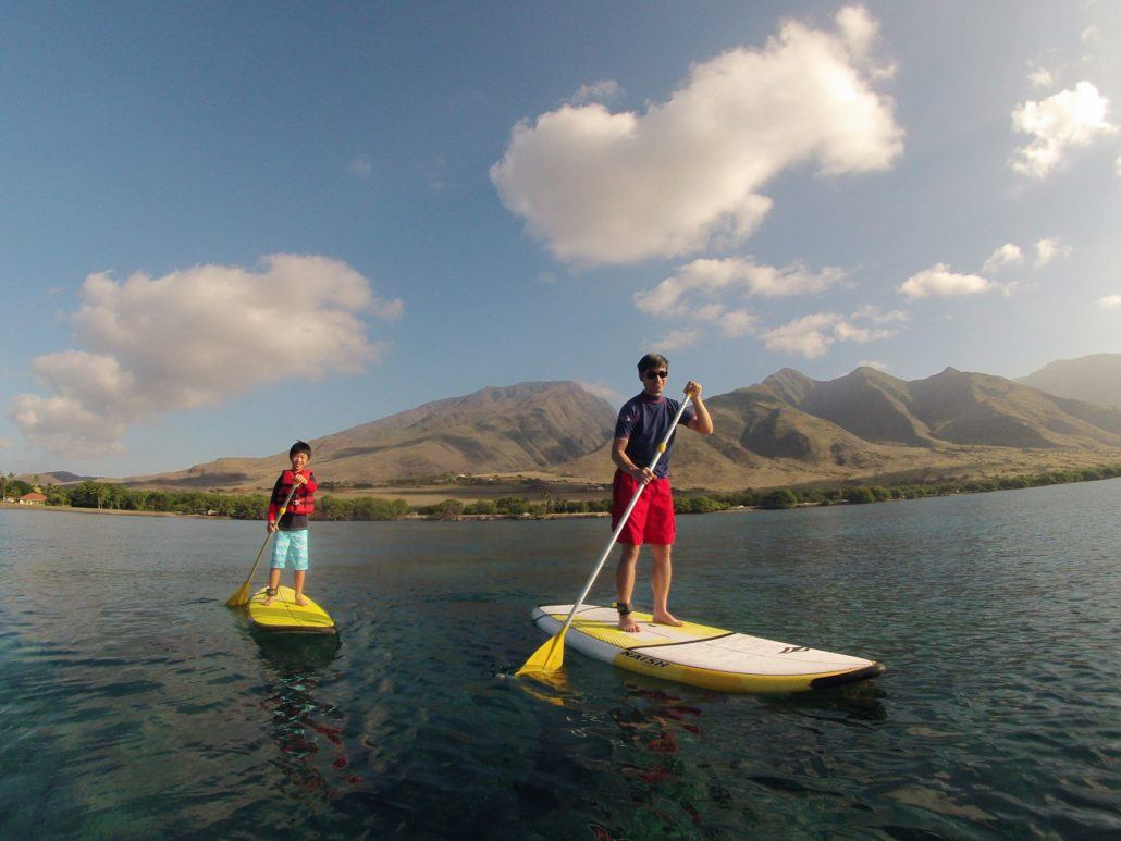 maui stand up paddle OloSUPlifejacket