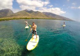 maui stand up paddle Olowalusup