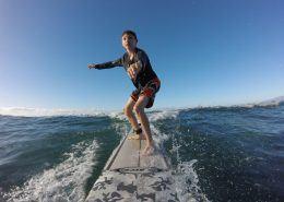 maui surf lessons SurfNoseBoyLongsleeveblack