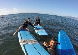 maui surf lessons WillwithTwogirlsselfie