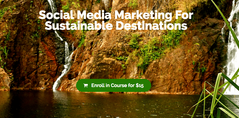 Social Media Marketing For Sustainable Destinations
