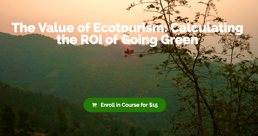 The Value of Ecotourism: Calculating the ROI of Going Green