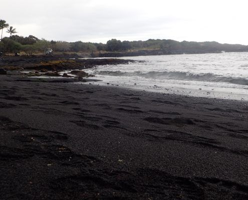 Wasabi Hawaii Tours Black Sand Beach