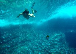 Redline Rafting Snorkeling Girl