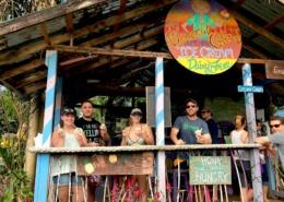 UHE Hawaii Maui Private tour Hana Coconut Glen ice cream