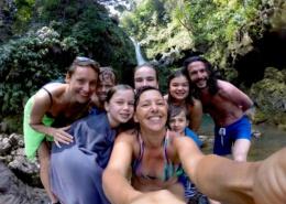 UHE Hawaii Maui Private tour Hana Waterfalls Waikamoi  copy