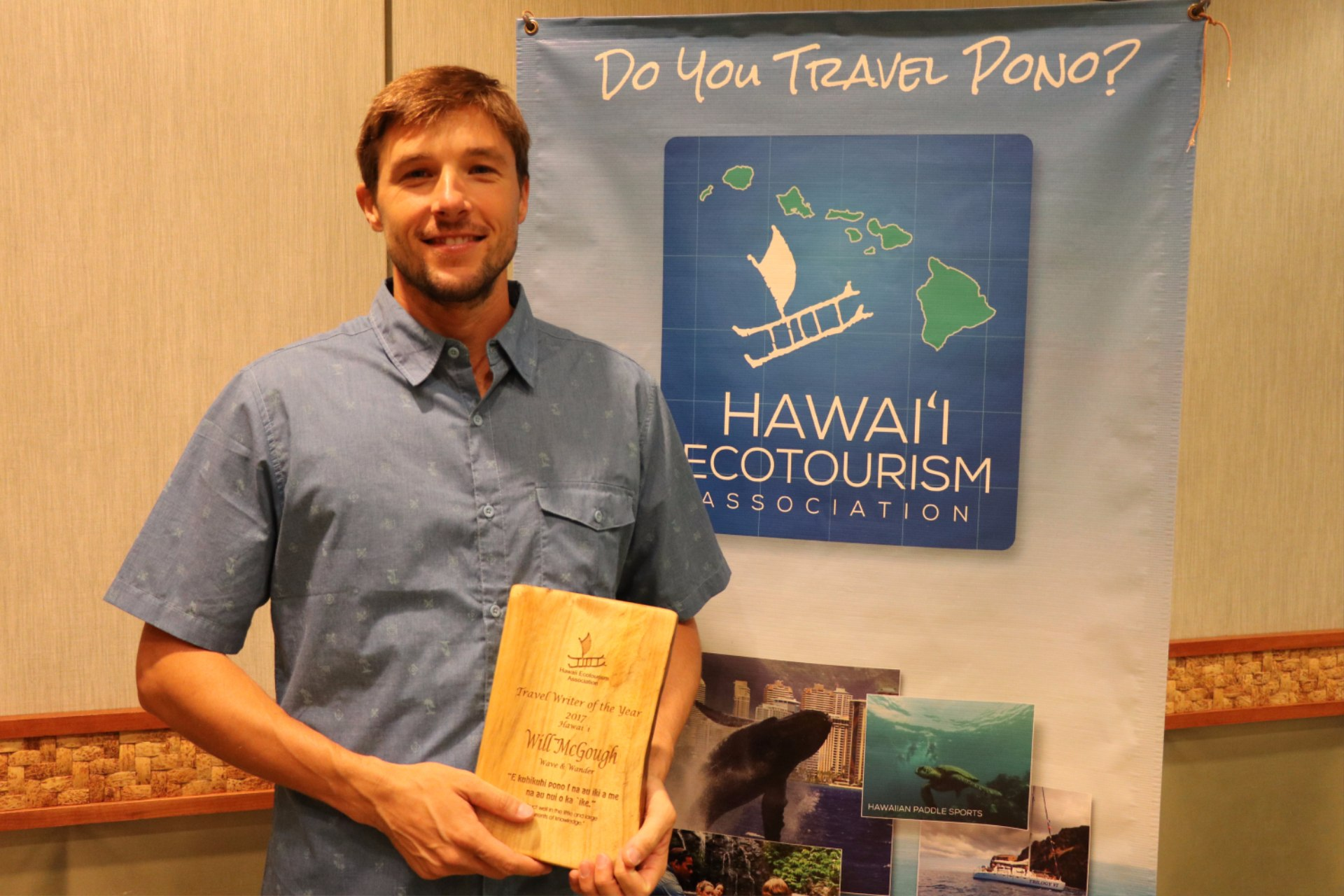 Travel writer of the year