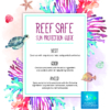 Reef safe infographic HEA