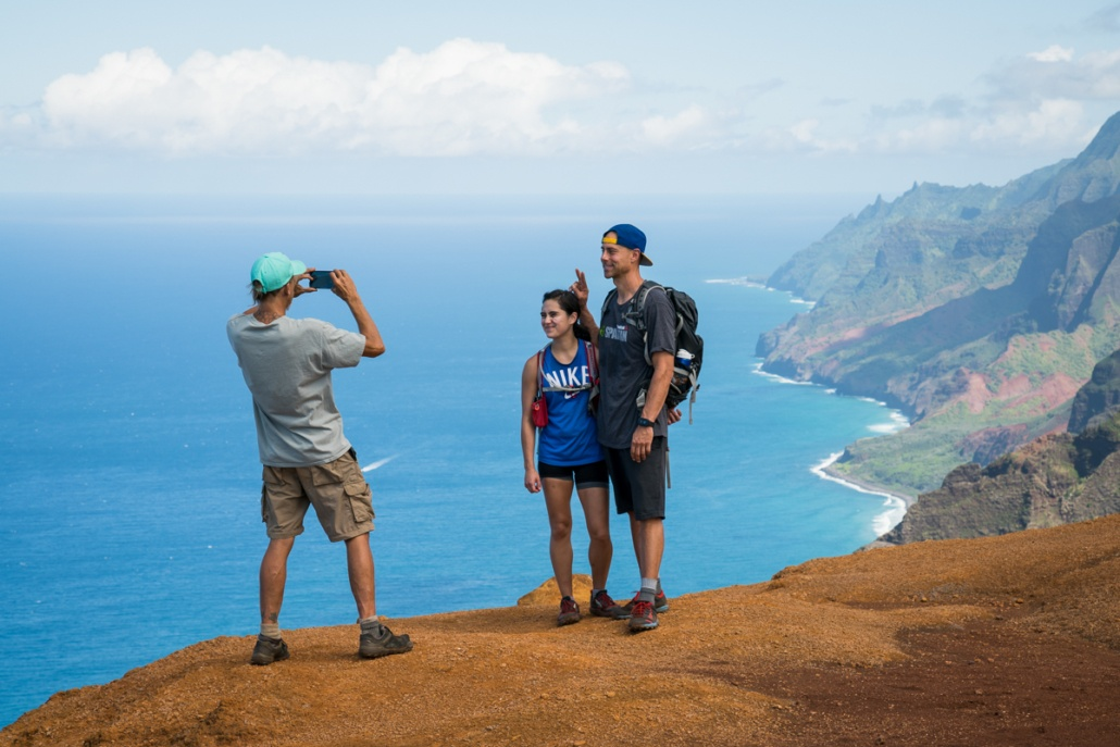 Taking Picture at Off the Beaten Path Kauai