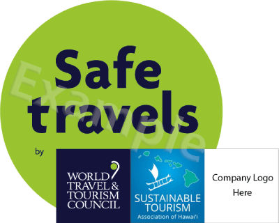 Safe Travels with STAH plus member logo